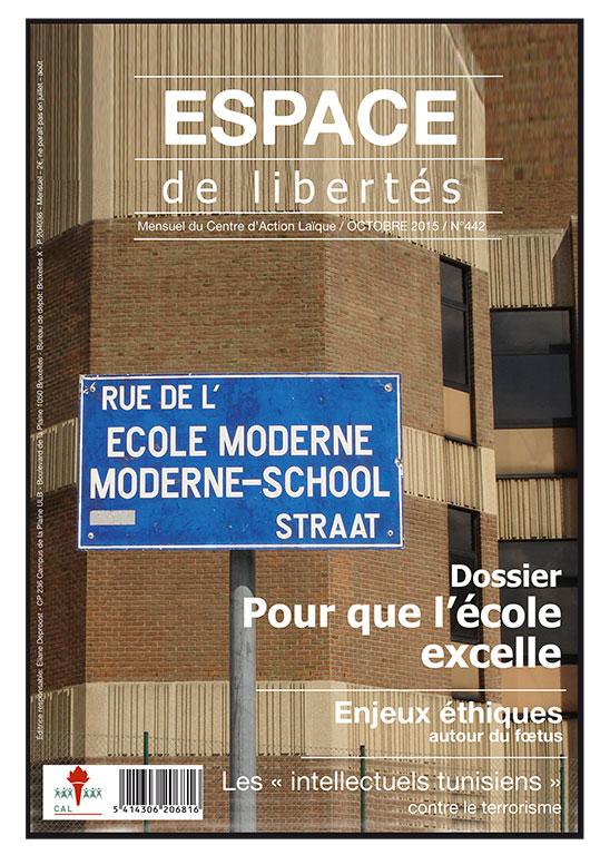 Espace de libertés | Octobre 2015 (n°442)