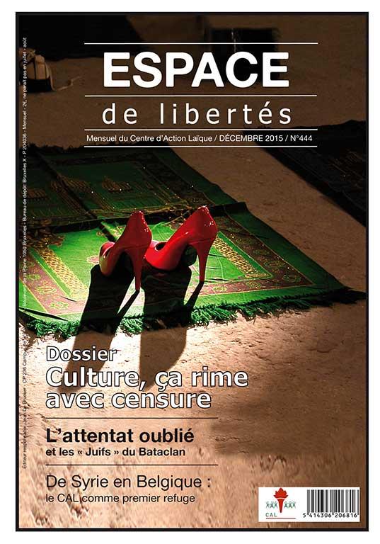 Espace de libertés | Décembre 2015 (n°444)