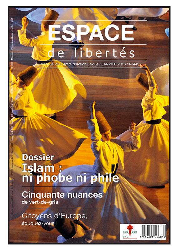 Espace de libertés | Janvier 2016 (n° 445)
