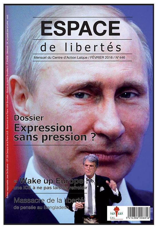 Espace de libertés | Février 2016 (n°446)