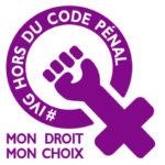 # IVG hors du code pénal - logo
