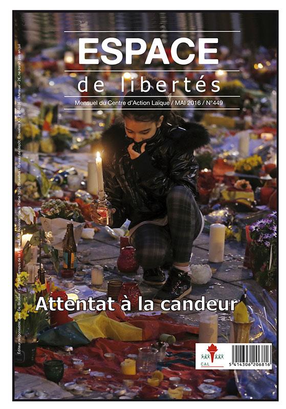 Espace de libertés | Mai 2016 (n°449)