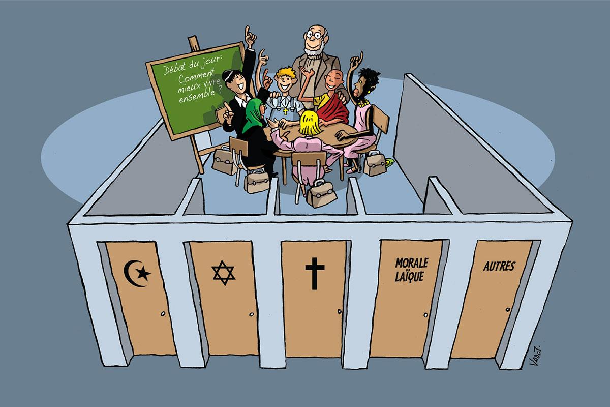 Pas de citoyenneté sans religion à l'école?