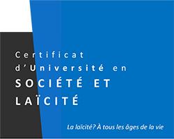 Société et Laïcité: un nouveau certificat universitaire