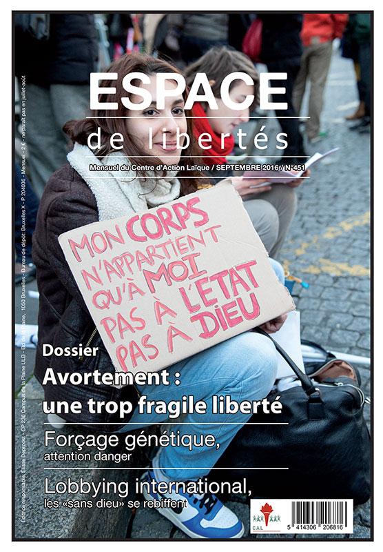 Espace de libertés | Septembre 2016 (n°451)