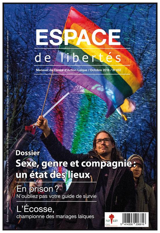Espace de libertés | Octobre 2016 (n°452)