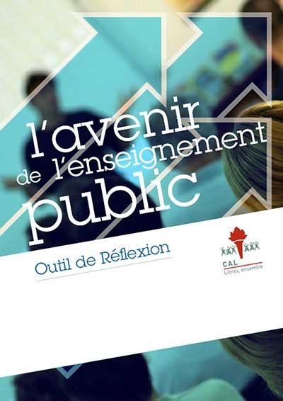 L'avenir de l'enseignement public