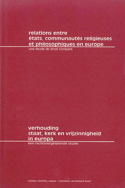 Relations entre États, communautés religieuses et philosophique en Europe