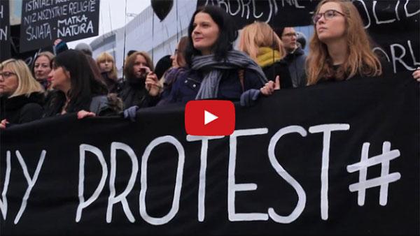 #CzarnyProtest. Le CAL soutient les femmes polonaises