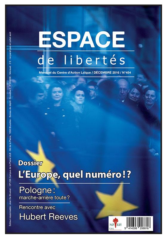 Espace de libertés | Décembre 2016 (n°454)
