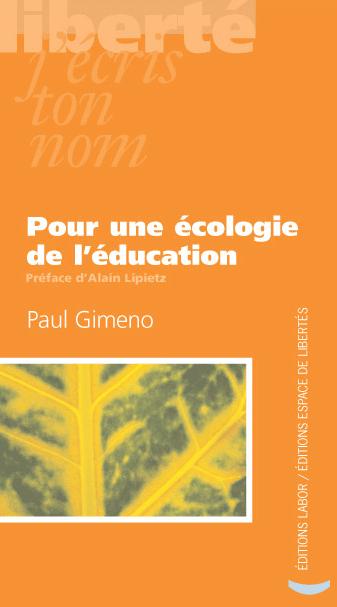 Pour une écologie de l'éducation