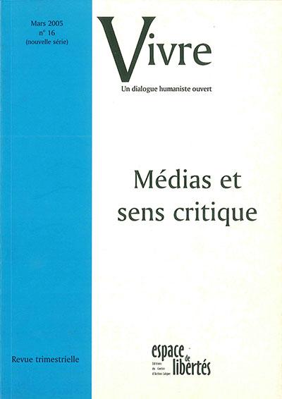 Médias et sens critique