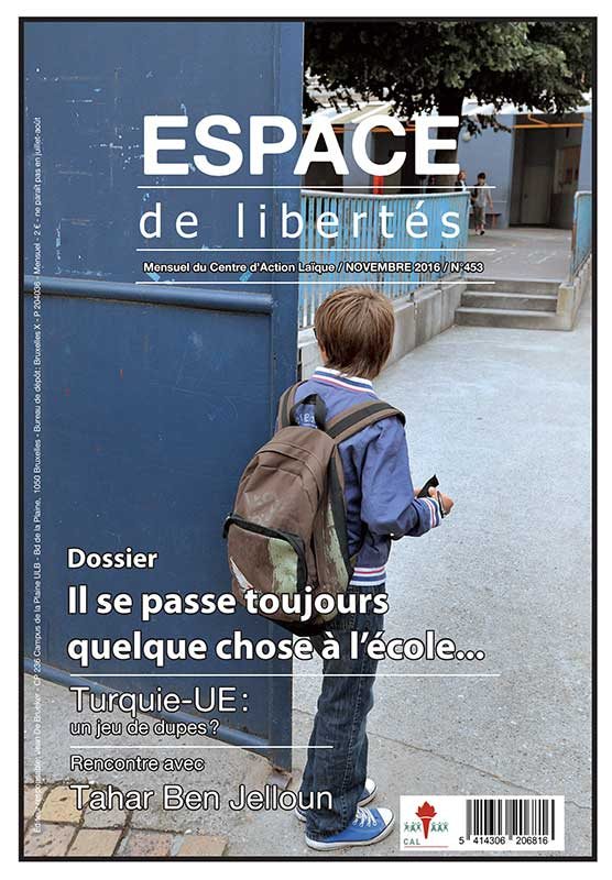Espace de libertés | Novembre 2016 (n°453)