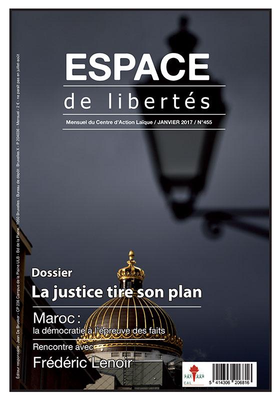 Espace de libertés | Janvier 2017 (n°455)