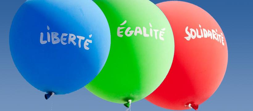 Liberté - Égalité - Solidarité