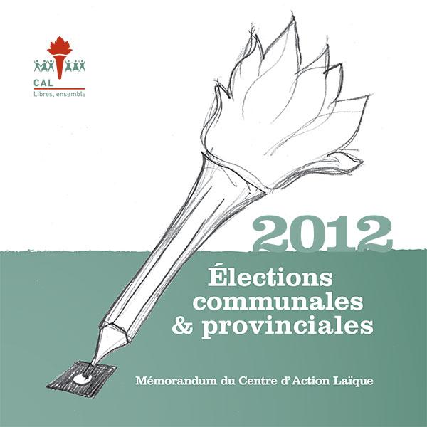 Mémorandum 2012 – Élections communales et provinciales