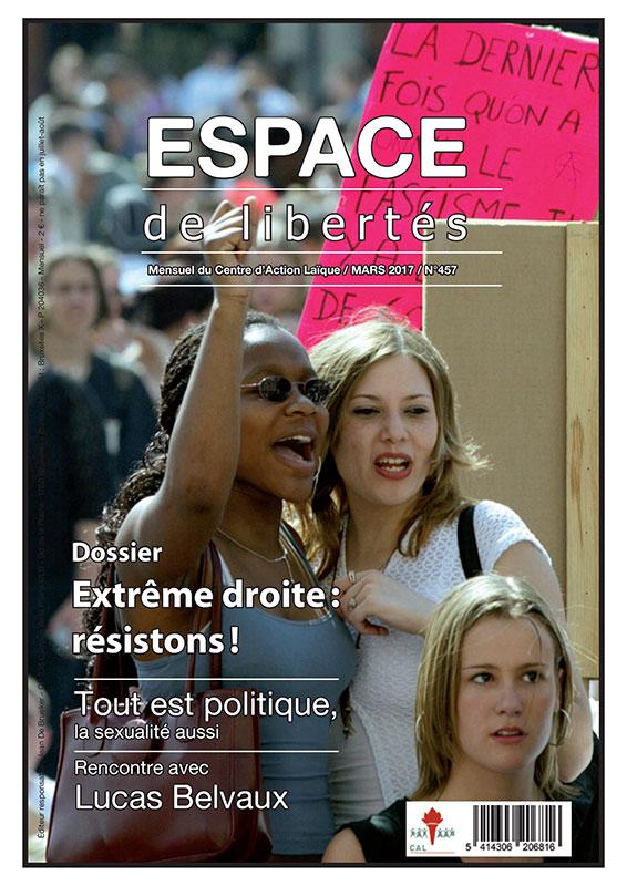 Espace de libertés | Mars 2017 (n° 457)