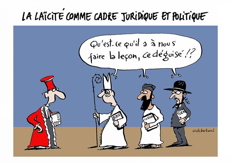 «Le combat laïque contre l'idéologie de mort»