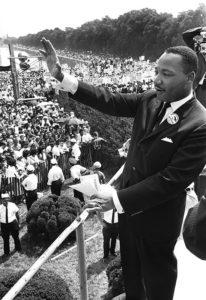 I have a dream... Martin Luther King le jour de son célèbre discours en faveur des droits civils, le 28 août 1963.