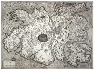 """Map of an Englishman"", 2004. L'imagination sans frontière. © Grayson Perry"