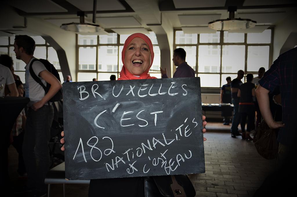 Parce que la capitale belge et belle dans sa diversité culturelle. © Université populaire d'Anderlecht