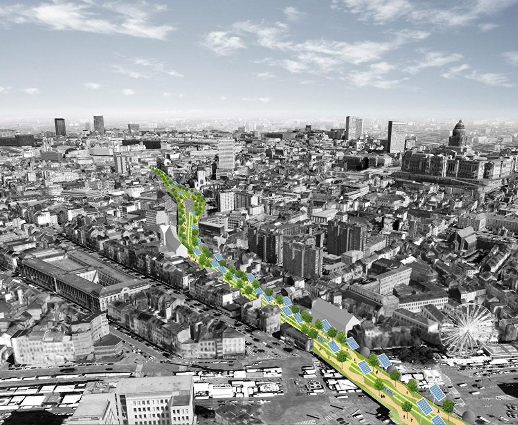 Bruxelles: dessine-moi une ville