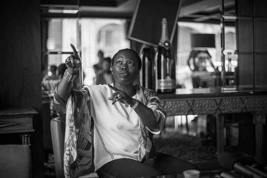 © Pierre Schonbrodt, Fatou Diome