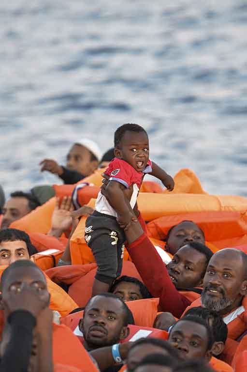 Crise de l'asile: les droits humains sur le fil