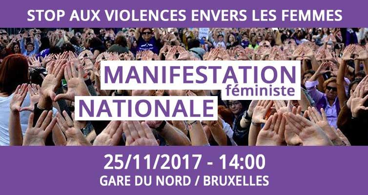 MANIFESTATION. Stop aux violences envers les femmes
