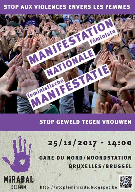 MANIFESTATION féministe | Stop aux violences envers les femmes