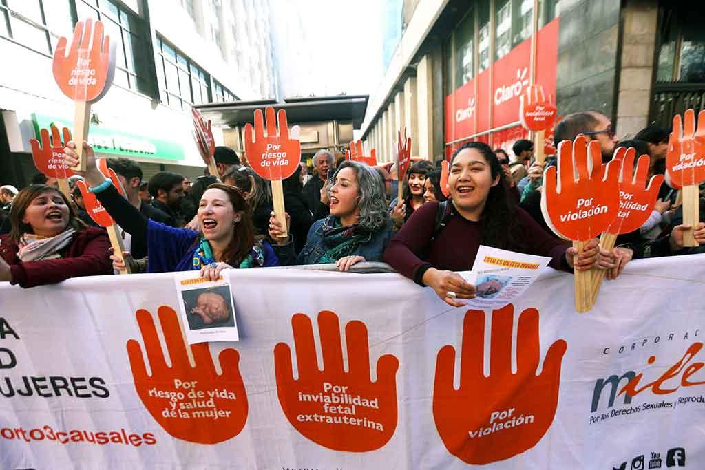 Chili – Un premier pas en avant vers le droit à l'IVG