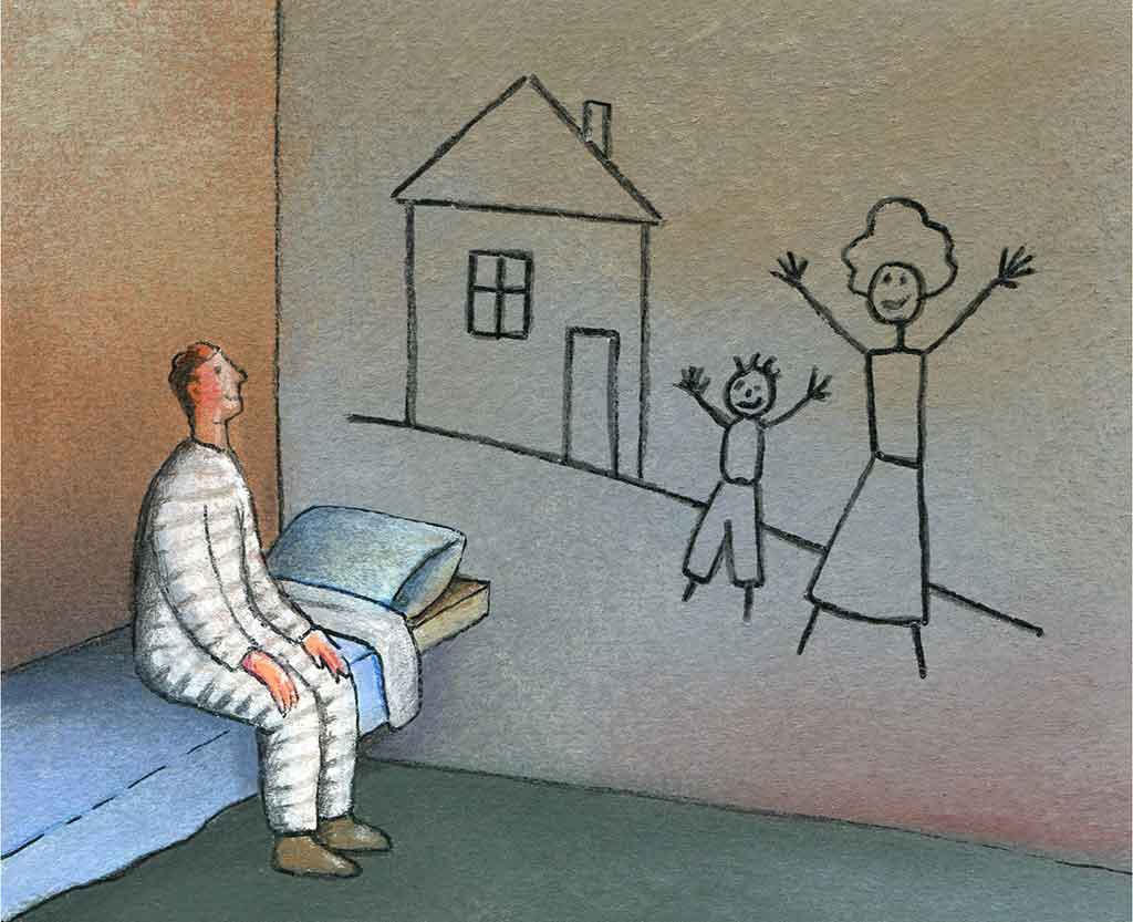 La vie de famille en prison: attention, fragile!