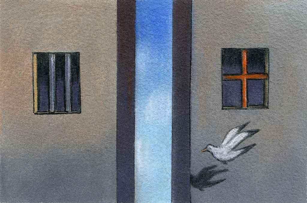 Vivre et avoir des opinions: même en prison!