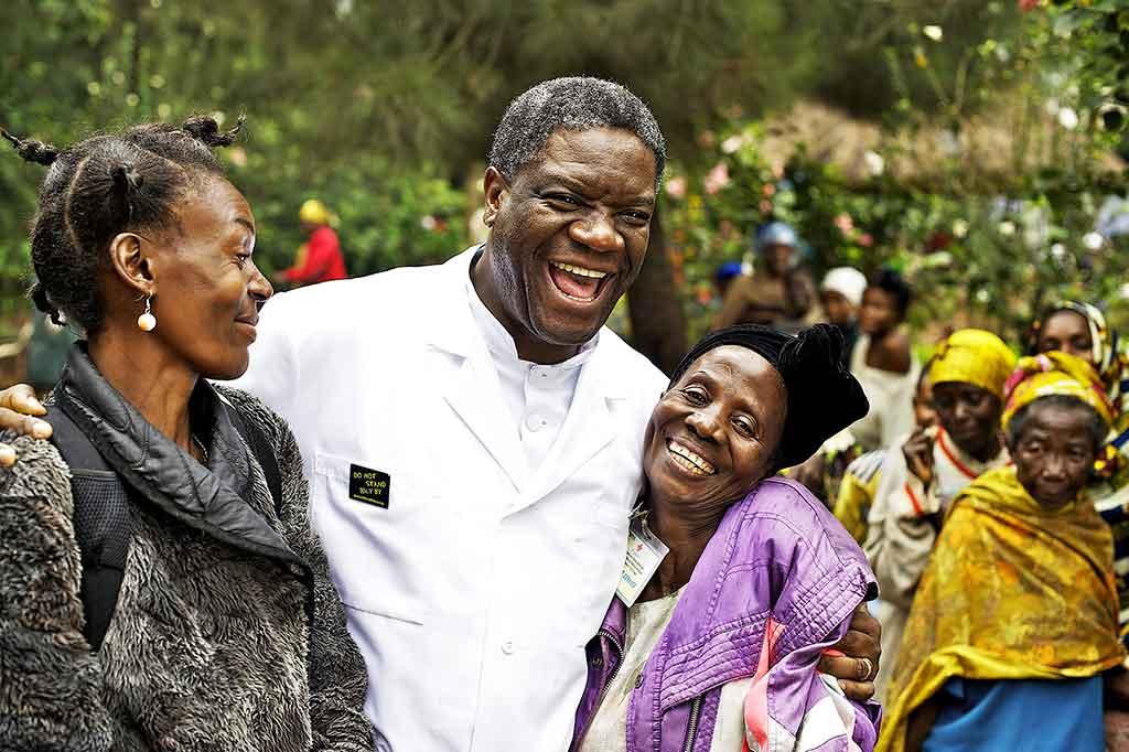 «La victoire des femmes sera celle de notre société»: rencontre avec Denis Mukwege