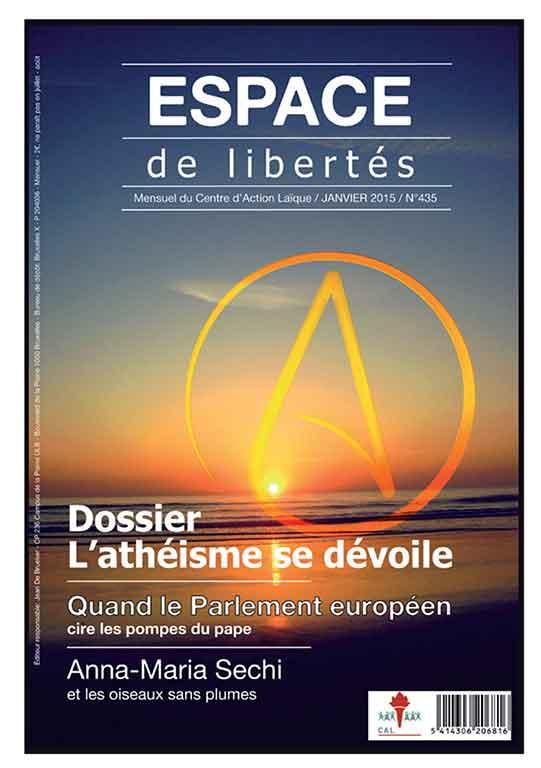 Espace de libertés | Janvier 2015 (n°435)