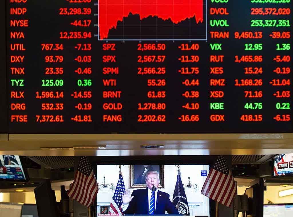 Spéculer est un pari, avec un gagnant, un perdant et un risque pour la société. © AFP/Bryan R. Smith