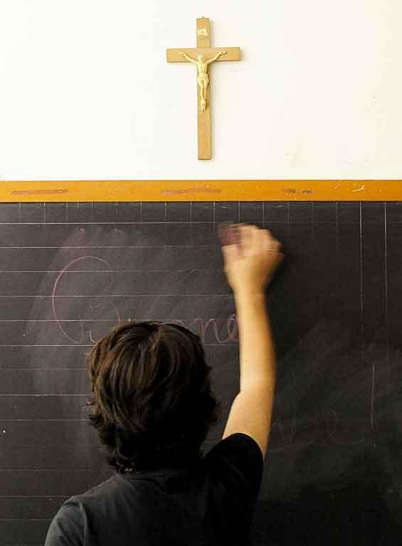 Religion à l'école: stop ou encore?