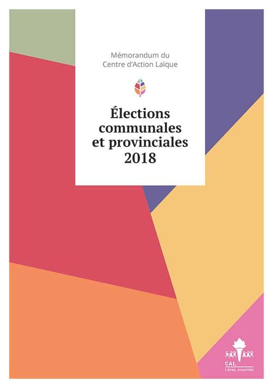 Mémorandum 2018 | Élections communales et provinciales