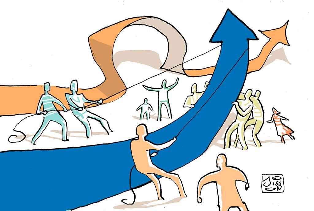 L'économie humaine qui croît, qui croît!
