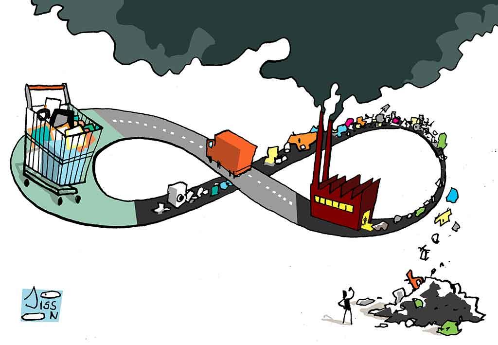 Économie circulaire: boucler le cercle