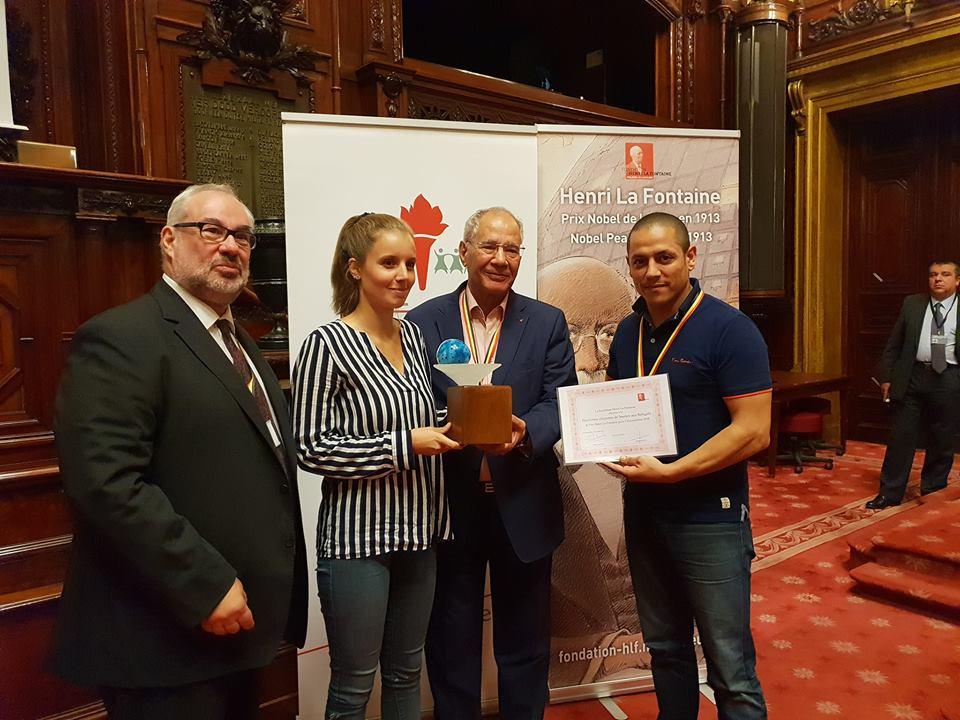 La Plateforme citoyenne de soutien aux réfugiés récompensée par le Prix Henri La Fontaine