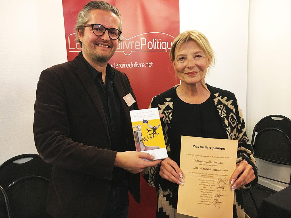 «Une démocratie approximative», Prix du livre politique 2018
