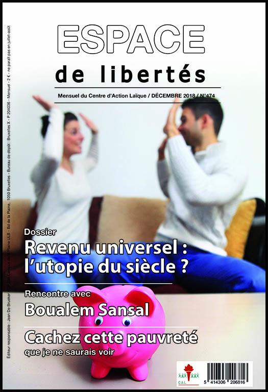 Espace de libertés | Décembre 2018 (n° 474)