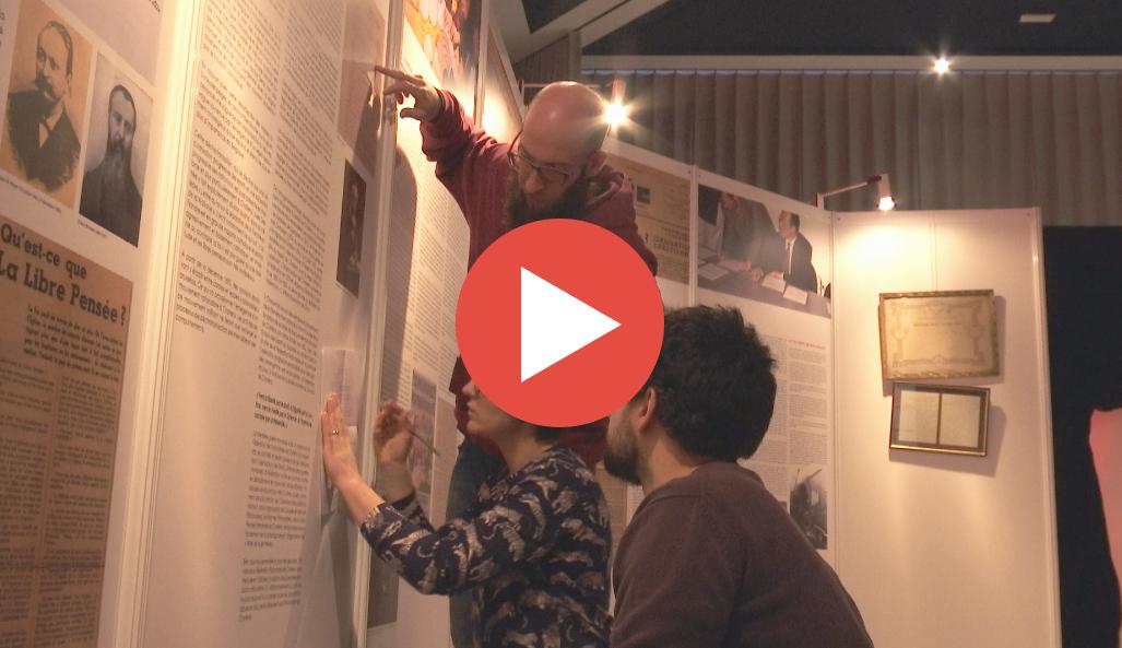 50 ans de laïcité (à Charleroi) : une expo… et un «escape game»