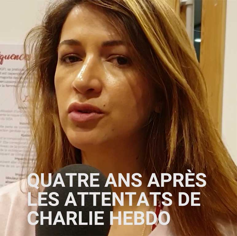 Carte blanche à Zineb El Rhazoui: quatre ans après les attentas de Charlie Hebdo, où en sommes-nous?