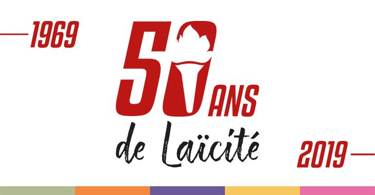 1969-2019. 50 ans de laïcité