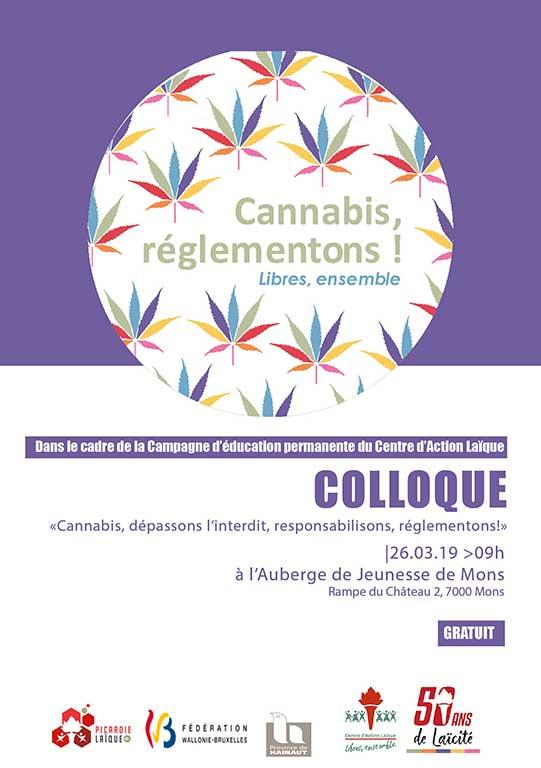 Cannabis, dépassons l'interdit, responsabilisons, réglementons!