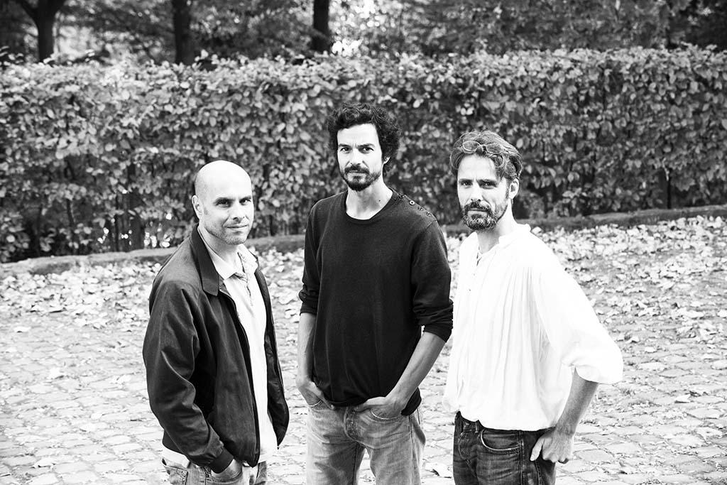 Pablo Servigné, Raphael Stevens et Gauthier Chapelle - Parc Leopold, Bruxelles - 17 octobre 2018