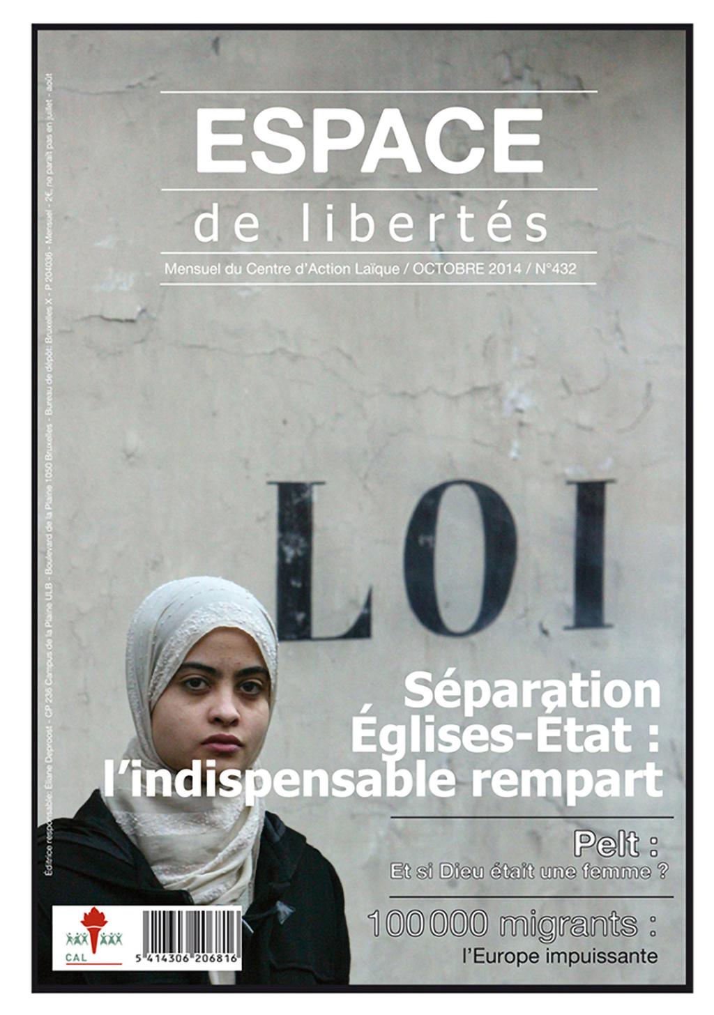 Espace de libertés | Octobre 2014 (n° 432)