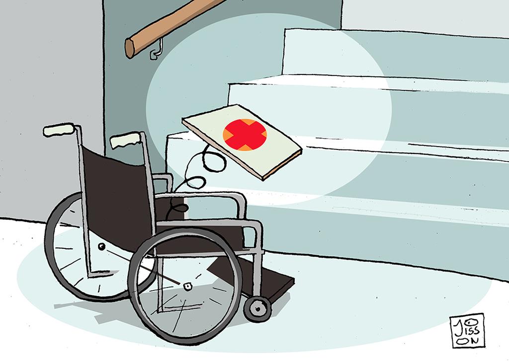 La double peine du handicap